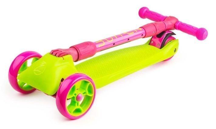 Samokat Zycom Zinger Maxi XL Lime Pink Folded